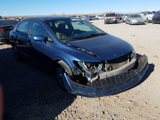 Salvage cars for sale from Copart Magna, UT: 2009 Honda Civic EXL