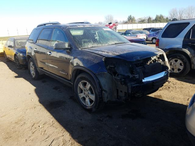 Salvage cars for sale from Copart Portland, MI: 2008 GMC Acadia SLE