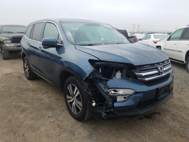 Salvage cars for sale from Copart Helena, MT: 2017 Honda Pilot EX
