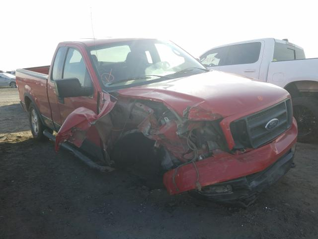 Salvage cars for sale from Copart Fresno, CA: 2004 Ford F150