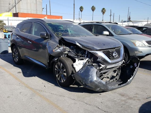 Nissan salvage cars for sale: 2018 Nissan Murano S