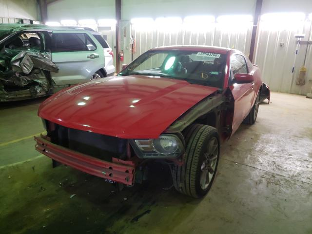из сша 2010 Ford Mustang 4.0L 1ZVBP8AN7A5147723
