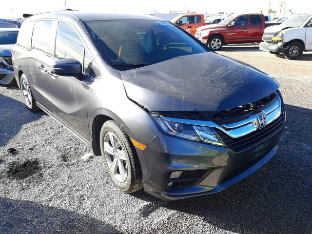 Salvage cars for sale from Copart Las Vegas, NV: 2018 Honda Odyssey EX
