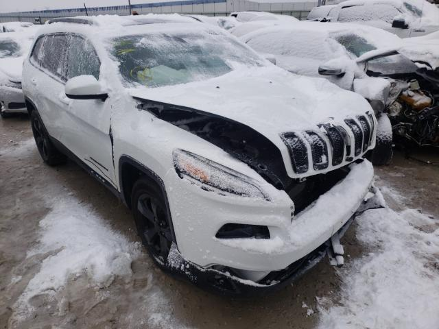 Salvage cars for sale from Copart Columbus, OH: 2017 Jeep Cherokee L