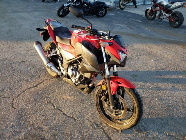 Salvage cars for sale from Copart Elgin, IL: 2015 Honda CB300 F