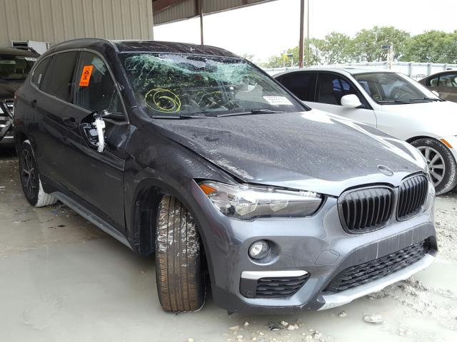Salvage cars for sale from Copart Homestead, FL: 2018 BMW X1 XDRIVE2