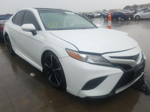 Salvage cars for sale from Copart Grand Prairie, TX: 2019 Toyota Camry XSE