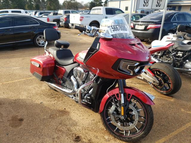 Salvage cars for sale from Copart Longview, TX: 2020 Indian Motorcycle Co. Challenger