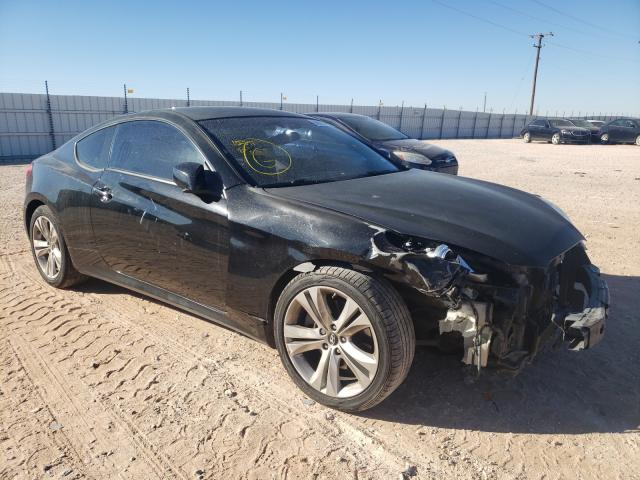 Salvage cars for sale from Copart Andrews, TX: 2010 Hyundai Genesis CO