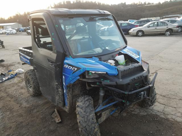 Salvage motorcycles for sale at West Mifflin, PA auction: 2016 Polaris Ranger XP