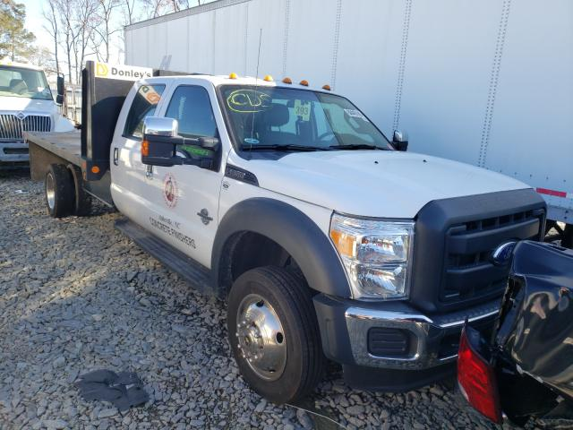 Salvage cars for sale from Copart Dunn, NC: 2014 Ford F550 Super