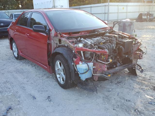 Salvage cars for sale from Copart Midway, FL: 2013 Toyota Corolla BA