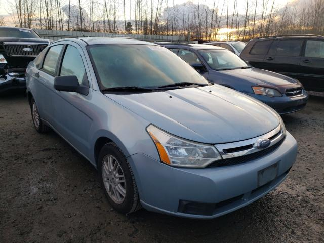 Salvage cars for sale from Copart Arlington, WA: 2009 Ford Focus SE