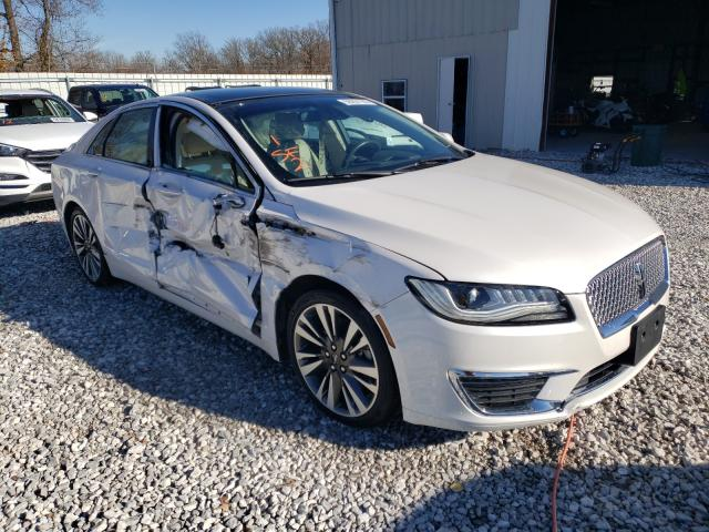 Salvage cars for sale from Copart Rogersville, MO: 2017 Lincoln MKZ Reserv