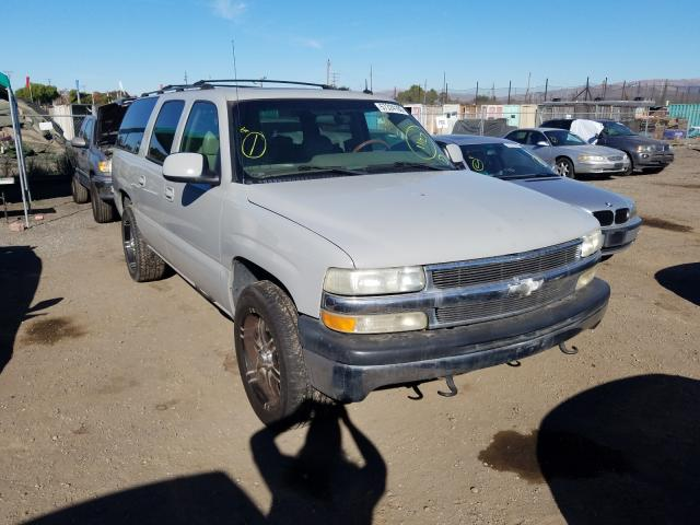 Chevrolet Suburban salvage cars for sale: 2002 Chevrolet Suburban