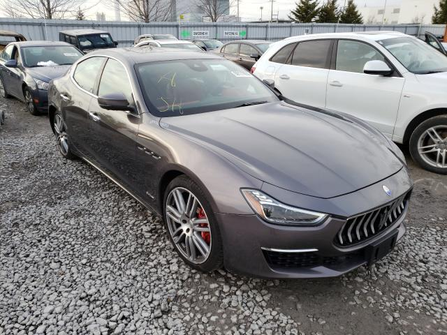 Salvage cars for sale from Copart Courtice, ON: 2018 Maserati Ghibli S