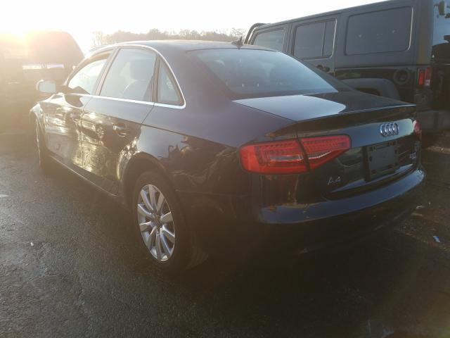 купить 2013 Audi A4 Premium 2.0L WAUBFAFL5DN021933