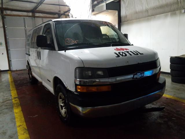 Salvage cars for sale from Copart Lyman, ME: 2005 Chevrolet Express G2