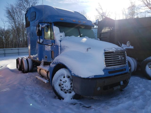 Salvage cars for sale from Copart Columbia Station, OH: 2007 Freightliner Convention