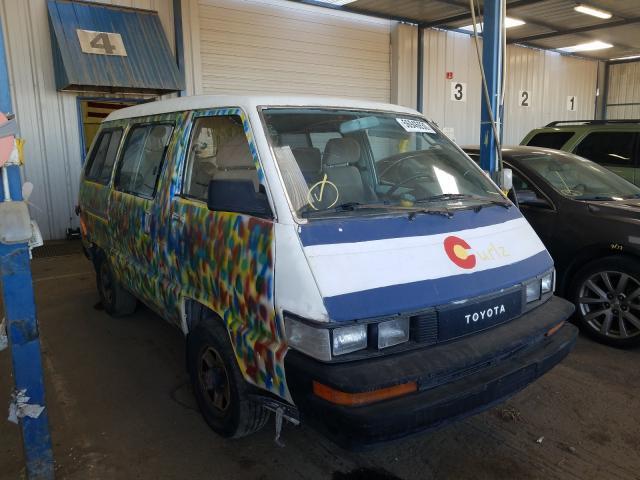 Global Auto Auctions: 1989 TOYOTA VAN WAGON
