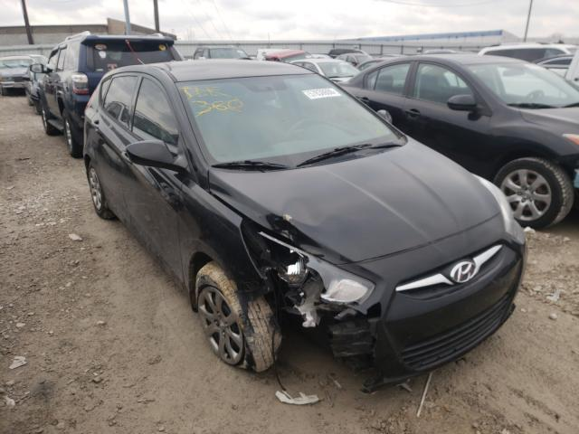 Salvage cars for sale from Copart Columbus, OH: 2013 Hyundai Accent GLS