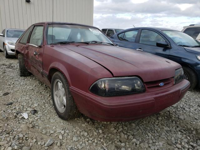 Salvage cars for sale from Copart Byron, GA: 1989 Ford Mustang LX