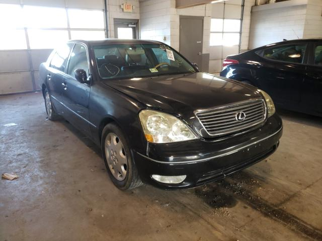Salvage cars for sale from Copart Sandston, VA: 2003 Lexus LS 430
