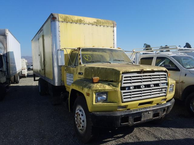 Salvage cars for sale from Copart Vallejo, CA: 1983 Ford F700