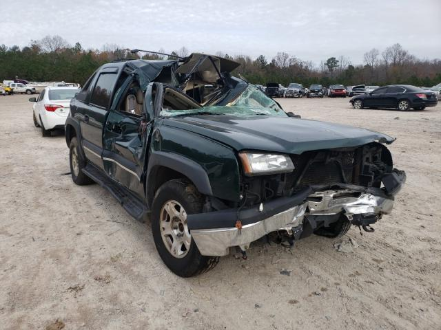 Salvage cars for sale from Copart Charles City, VA: 2004 Chevrolet Avalanche