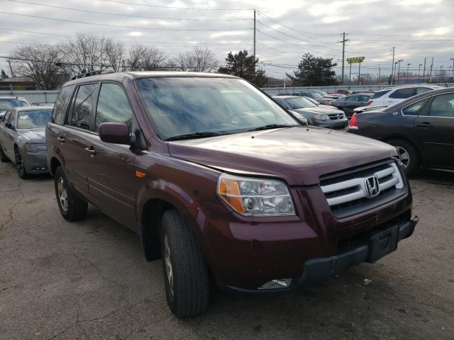 Salvage cars for sale from Copart Moraine, OH: 2008 Honda Pilot