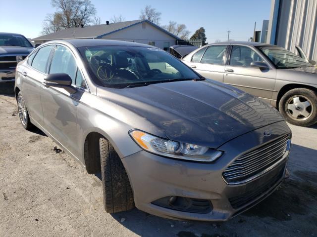 Salvage cars for sale from Copart Sikeston, MO: 2014 Ford Fusion SE