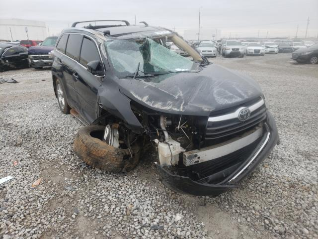Salvage cars for sale from Copart Tulsa, OK: 2015 Toyota Highlander
