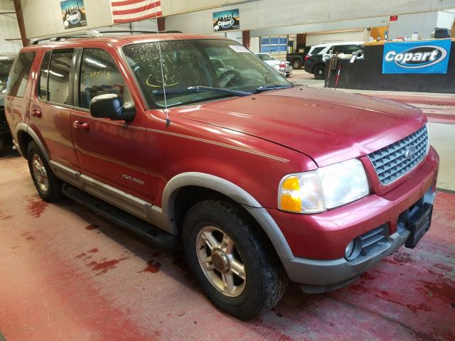 Salvage cars for sale from Copart Angola, NY: 2002 Ford Explorer