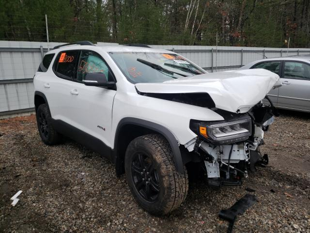 Salvage cars for sale from Copart Lyman, ME: 2020 GMC Acadia AT4