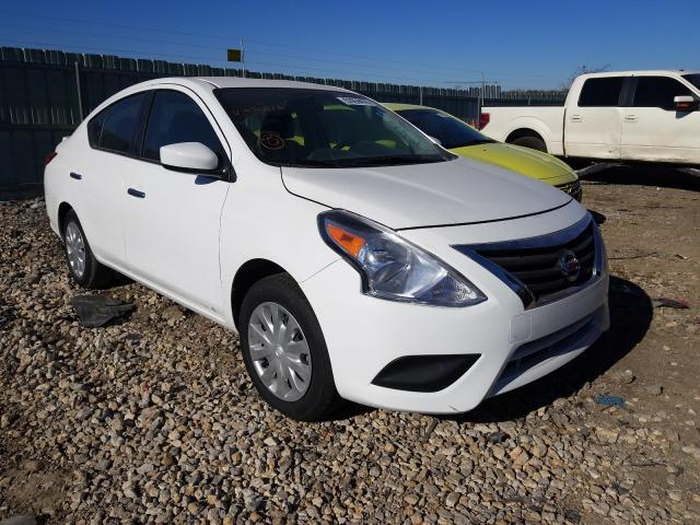 Salvage cars for sale from Copart Kansas City, KS: 2019 Nissan Versa S