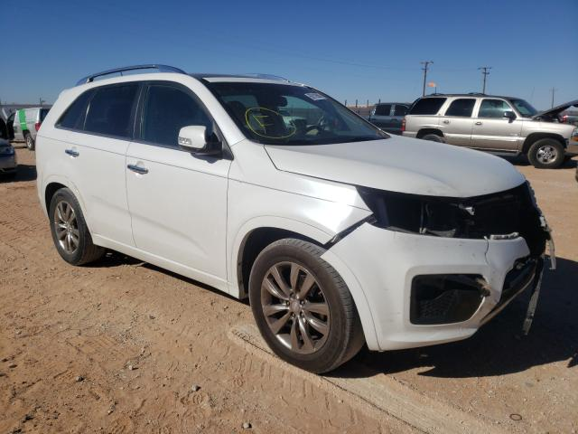 Salvage cars for sale from Copart Andrews, TX: 2012 KIA Sorento SX