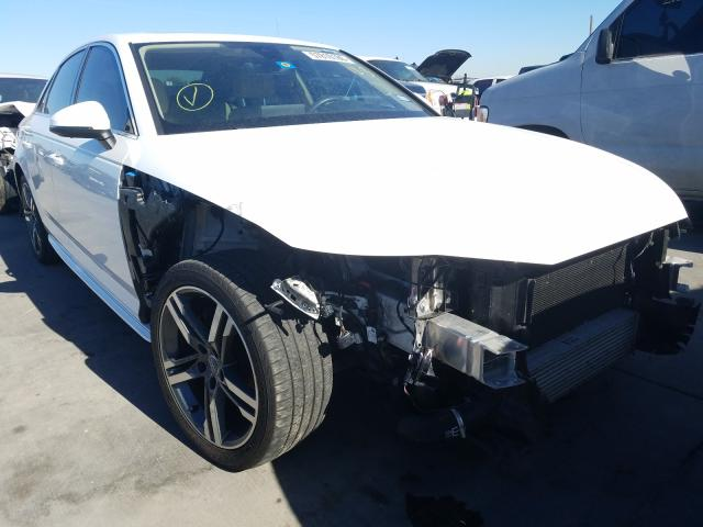 Salvage cars for sale from Copart Grand Prairie, TX: 2018 Audi A4 Prestige