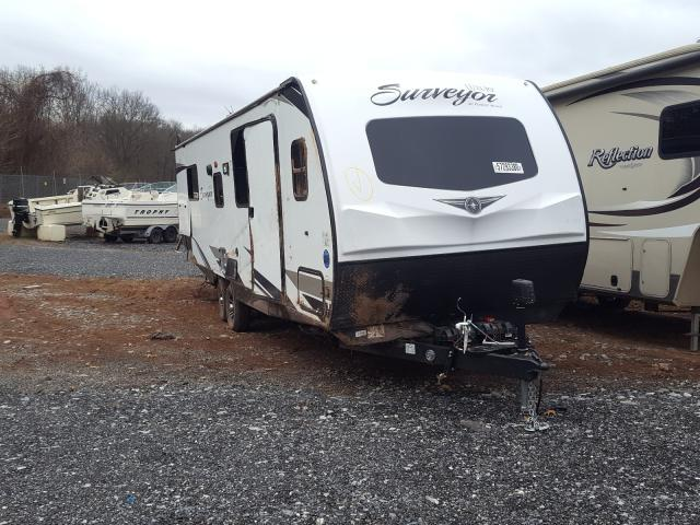 Salvage cars for sale from Copart York Haven, PA: 2021 Wildwood Surveyor