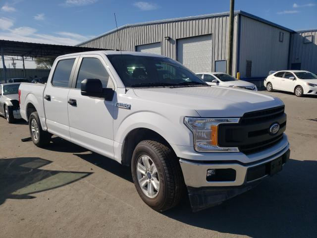 Salvage cars for sale from Copart Orlando, FL: 2019 Ford F150 Super