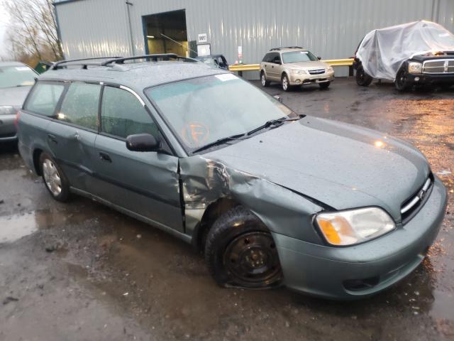 Subaru Vehiculos salvage en venta: 2001 Subaru Legacy L