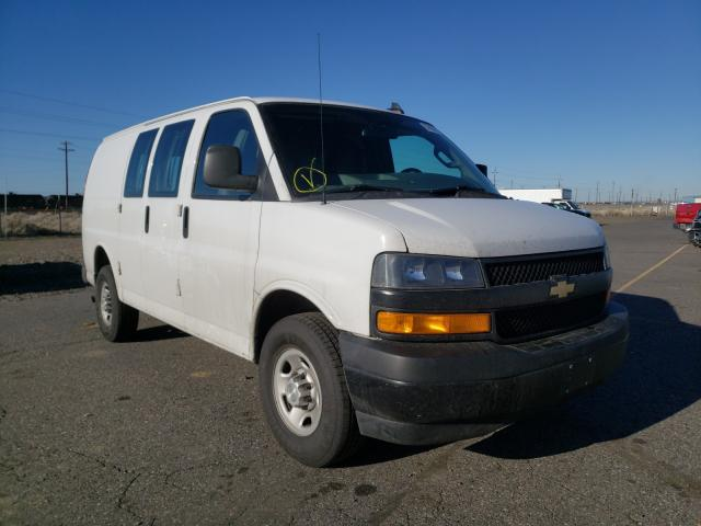 Salvage cars for sale from Copart Pasco, WA: 2019 Chevrolet Express G2