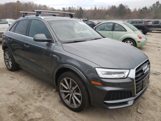 Salvage cars for sale from Copart Hampton, VA: 2018 Audi Q3 Premium