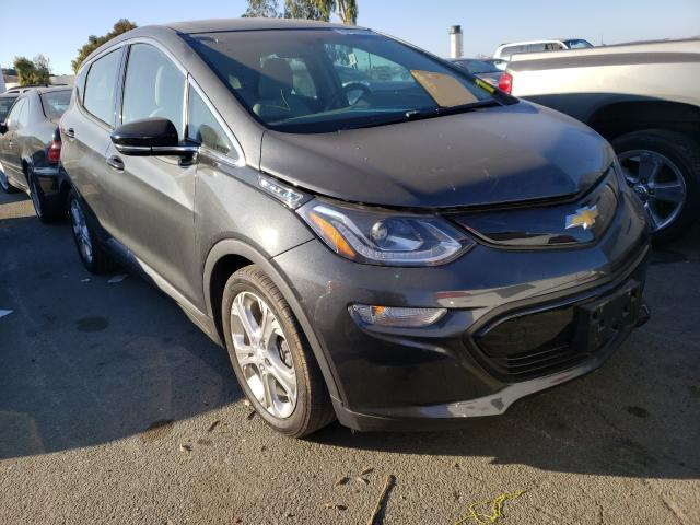 Chevrolet Bolt EV LT salvage cars for sale: 2018 Chevrolet Bolt EV LT