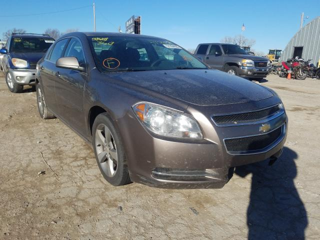 Salvage cars for sale from Copart Wichita, KS: 2011 Chevrolet Malibu 1LT
