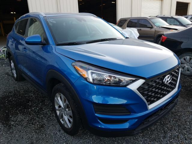 Salvage cars for sale from Copart Jacksonville, FL: 2020 Hyundai Tucson Limited