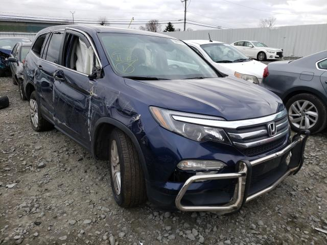 Salvage cars for sale from Copart Windsor, NJ: 2016 Honda Pilot LX