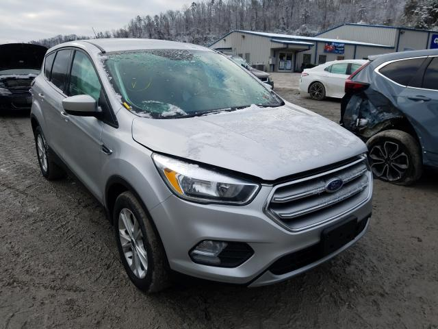 Salvage cars for sale from Copart Hurricane, WV: 2017 Ford Escape SE