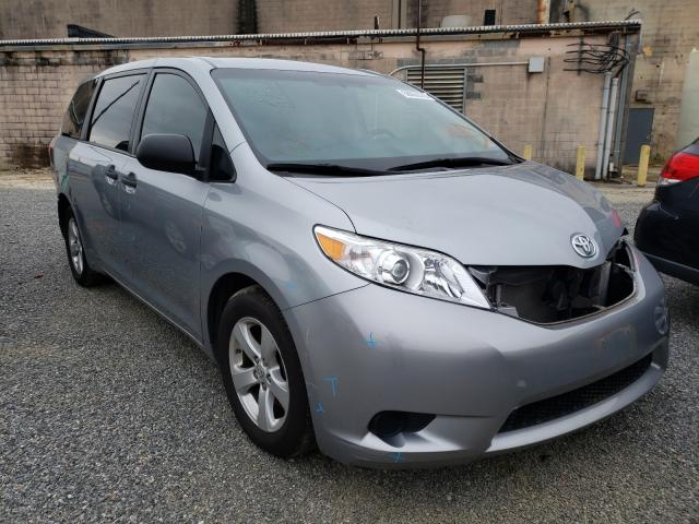 Salvage cars for sale from Copart Fredericksburg, VA: 2017 Toyota Sienna