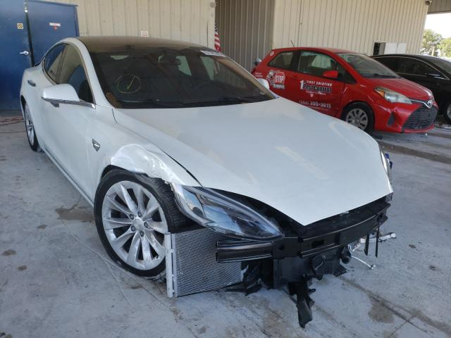 Salvage cars for sale from Copart Homestead, FL: 2020 Tesla Model S
