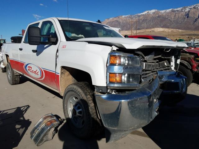 Salvage cars for sale from Copart Farr West, UT: 2018 Chevrolet Silverado